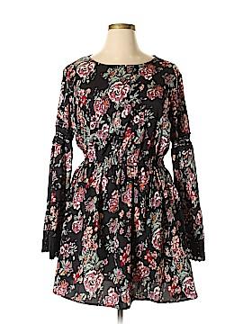 Boohoo Boutique Casual Dress Size 16 (Plus)