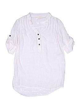 Mind Code Short Sleeve Button-Down Shirt Size S