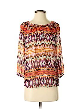 Daisy Fuentes 3/4 Sleeve Blouse Size XS