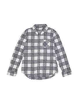 Cat & Jack Long Sleeve Button-Down Shirt Size 10