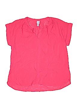 Jcpenney Short Sleeve Blouse Size M (Petite)