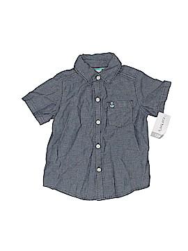 Carter's Short Sleeve Button-Down Shirt Size 12 mo