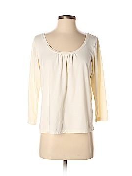 Sigrid Olsen 3/4 Sleeve T-Shirt Size M