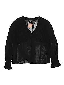 Milano Long Sleeve Blouse Size XL