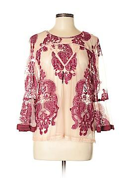 Mink Pink Long Sleeve Blouse Size M