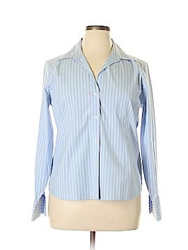 Bass Long Sleeve Button-Down Shirt Size XL