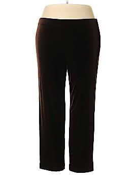 R&M Richards Velour Pants Size 14 (Petite)