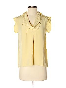 Derek Lam Short Sleeve Silk Top Size 0