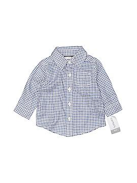 Carter's Long Sleeve Button-Down Shirt Size 6 mo