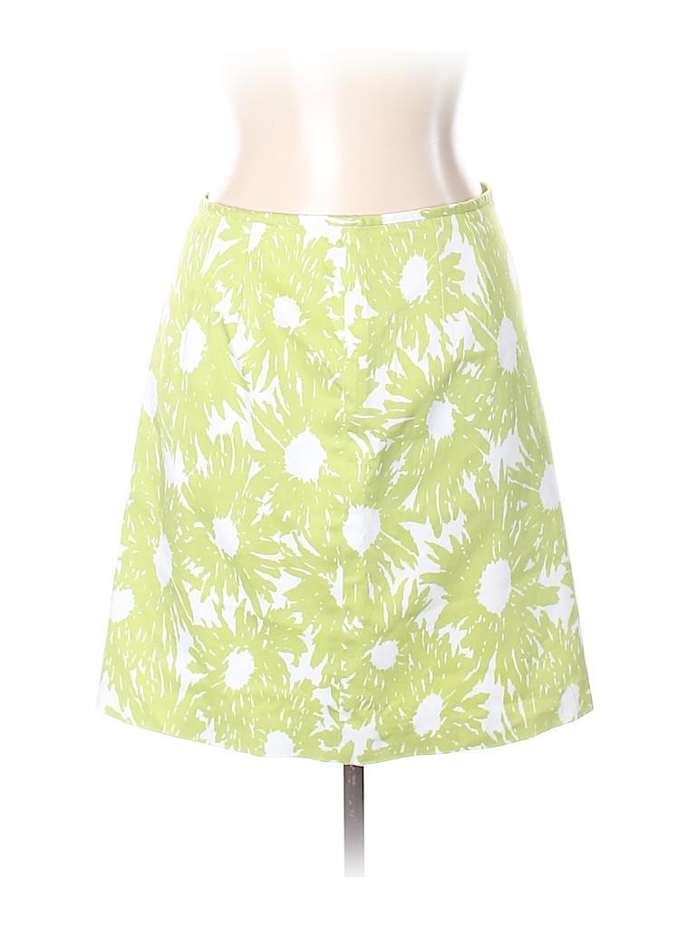 e5e9d64e91fc Talbots Print Green Denim Skirt Size 10 (Petite) - 96% off | thredUP