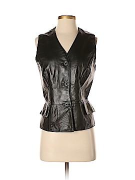 Dana Buchman Leather Jacket Size 8