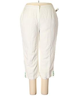 Ruby Rd. Linen Pants Size 18 (Plus)