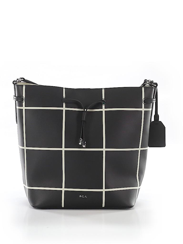 df701f96fb Lauren by Ralph Lauren Stripes Black Shoulder Bag One Size - 60% off ...