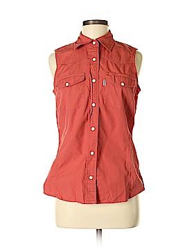 Carhartt Sleeveless Button-Down Shirt Size M
