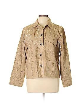 Chico's Design Denim Jacket Size Med (1)