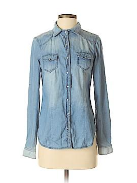 Ci Sono Long Sleeve Button-Down Shirt Size S