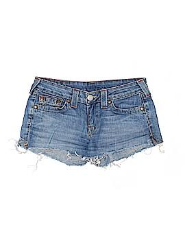 True Religion Denim Shorts 29 Waist
