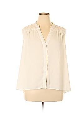 Boutique + Sleeveless Blouse Size 1X (Plus)