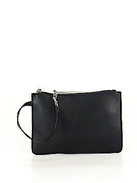 Karl Lagerfeld Leather Wristlet One Size