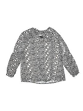 Un Deux Trois 3/4 Sleeve Blouse Size 10