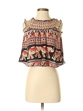Band of Gypsies Sleeveless Blouse Size XS