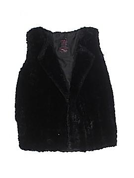 Faded Glory Faux Fur Vest Size 7 - 8