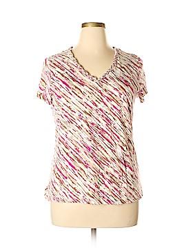 Dana Buchman Short Sleeve T-Shirt Size XL