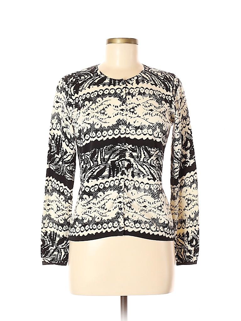 August Silk Women Cardigan Size M (Petite)
