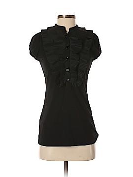 BCBGMAXAZRIA Short Sleeve Henley Size S