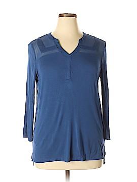 Roz & Ali 3/4 Sleeve Top Size L