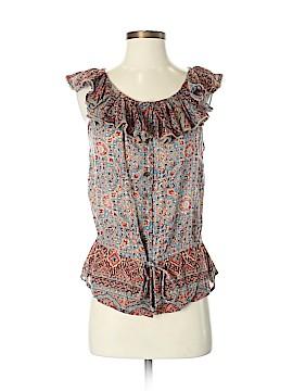 Lauren Jeans Co. Short Sleeve Blouse Size M