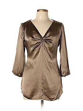 Bailey 44 3/4 Sleeve Silk Top Size L