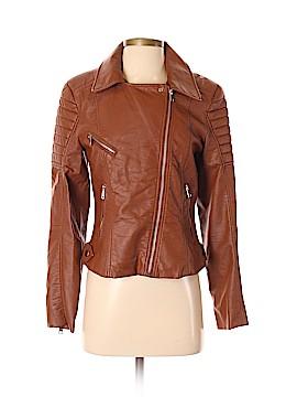 Forever 21 Leather Jacket Size M