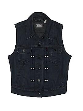 Levi Strauss Signature Denim Vest Size XS
