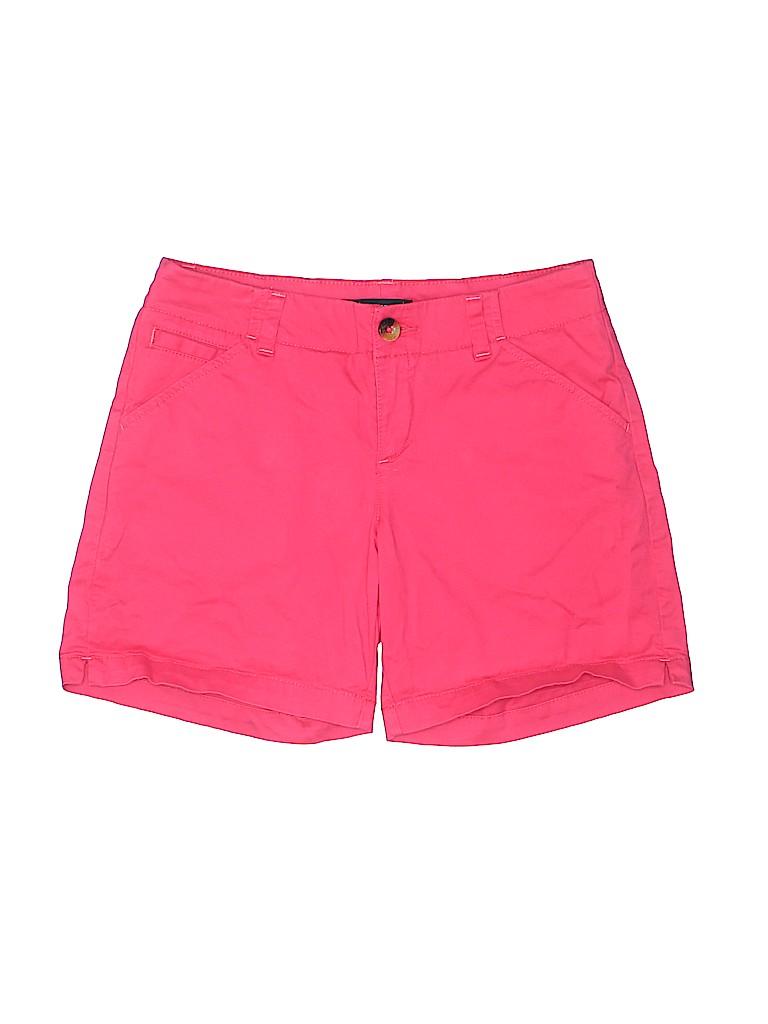 Lee Women Khaki Shorts Size 4