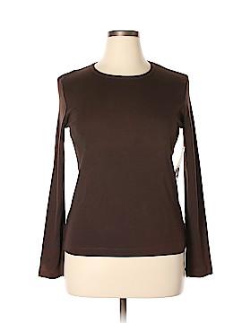 Jones New York Sport Long Sleeve T-Shirt Size L
