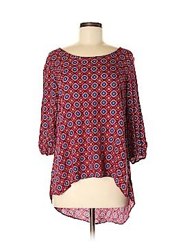 Moa Moa 3/4 Sleeve Blouse Size M