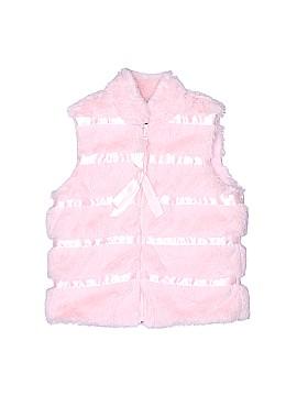 American Widgeon Faux Fur Vest Size 3