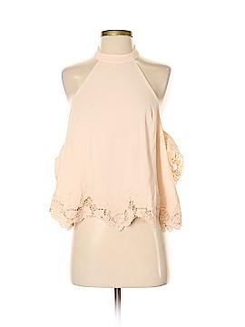 Astr Short Sleeve Blouse Size S