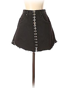 Car Mar Denim Skirt 26 Waist