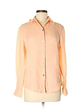Linda Allard Ellen Tracy Long Sleeve Button-Down Shirt Size 6