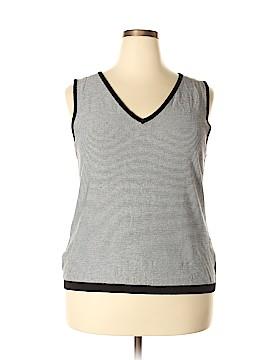 Linda Allard Ellen Tracy Sweater Vest Size 3X (Plus)
