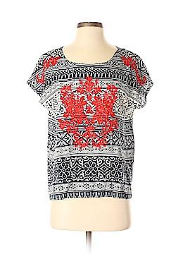 Vanessa Virginia Short Sleeve Blouse Size S
