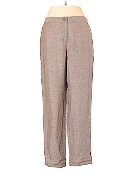 Nic + Zoe Linen Pants Size 8