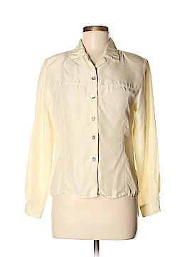 Casual Corner Annex Long Sleeve Silk Top Size M