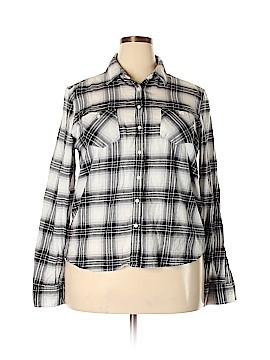 Aeropostale Long Sleeve Button-Down Shirt Size XXL