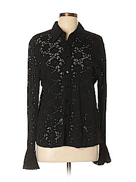 Josephine Chaus Long Sleeve Blouse Size L