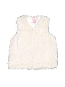 Design History Faux Fur Vest Size 4T