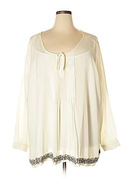 Ellos Long Sleeve Blouse Size 1X (Plus)