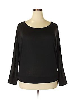 Canvas Sweatshirt Size 2X (Plus)